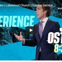 Pastor Joel Osteen Sunday Service May 31 2020 in Lakewood Church