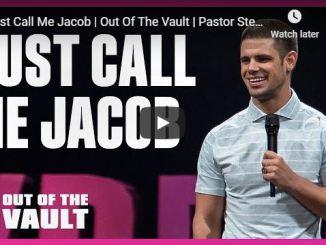 Pastor Steven Furtick Sermon - Just Call Me Jacob