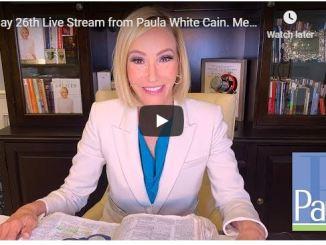 Paula White Cain May 2020