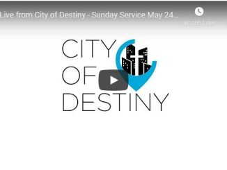 Paula White Ministries Sunday Live Service May 24 2020 In City of Destiny