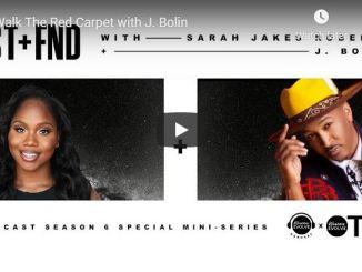 Sarah Jakes Roberts - Walk The Red Carpet with J. Bolin - May 2020
