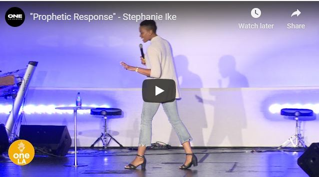 Stephanie Ike Message - Prophetic Response - May 22 2020