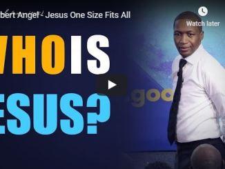 Uebert Angel Sermon - Jesus One Size Fits All