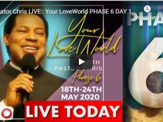 Your LoveWorld With Pastor Chris May 18 2020