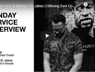 Carl Lentz & Bishop TD Jakes - Sunday Service Interview