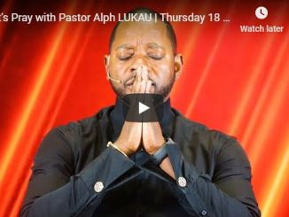 Pray with Pastor Alph Lukau June 2020