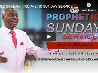 Living Faith Church Sunday Live Service June 21 2020