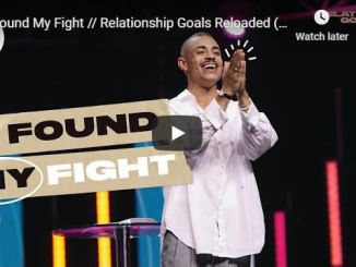 Pastor Charles Metcalf - I Found My Fight - June 21 2020