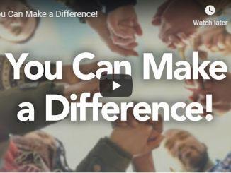 Rabbi Schneider Sermon - You Can Make a Difference - June 17 2020