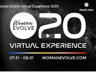Sarah Jakes Roberts - Woman Evolve Virtual Experience 2020