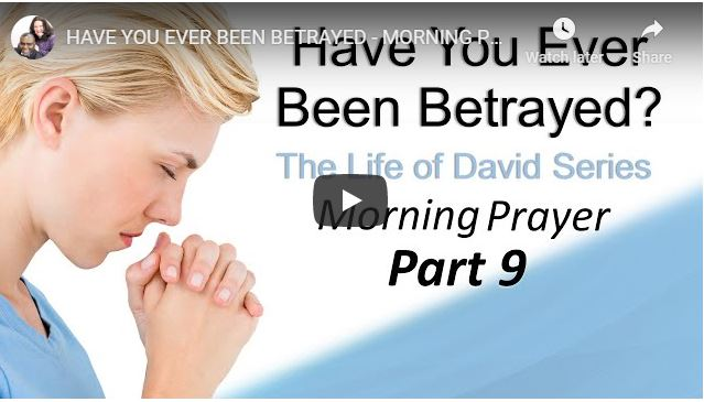 Sean Pinder - Have You Ever Been Betrayed - Morning Prayer