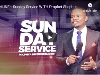 Shepherd Bushiri Sunday Live Service June 7 2020