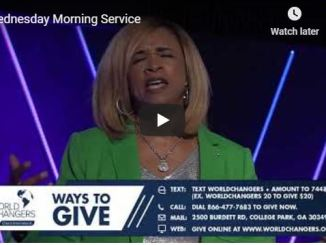 Wednesday Morning Service With Creflo Dollar In World Changers 2020