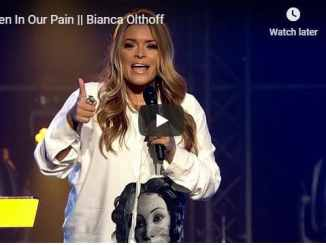 Bianca Olthoff Sermon - Even In Our Pain - July 2020
