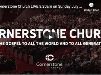 Cornerstone Church Sunday Live Service July 12 2020 With Matt Hagee