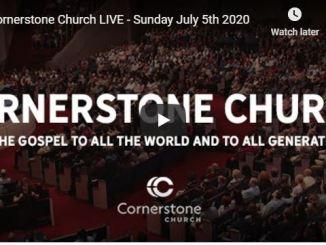 Cornerstone Church Sunday Live Service July 5 2020