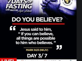 Day 3 of 7 Days Fasting With Alph Lukau – July 3 2020 – Alleluia Ministries