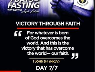 Day 7 of 7 Days Fasting With Alph Lukau – July 7 2020 – Alleluia Ministries International