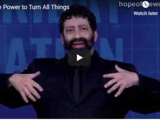 Jonathan Cahn Sermon - The Power to Turn All Things - July 2020