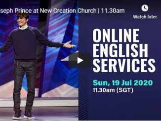 Joseph Prince at New Creation Church Sunday July 19 2020