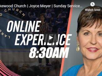 Joyce Meyer In Lakewood Church Service Today July 5 2020