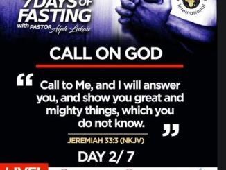 Day 2 of 7 Days Fasting With Alph Lukau – July 2 2020 – Alleluia Ministries