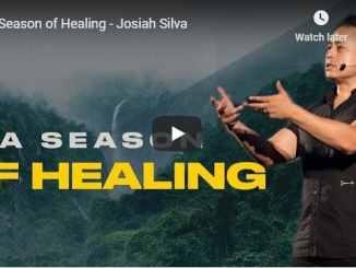 Pastor Josiah Silva Sermon - A Season of Healing - July 12 2020