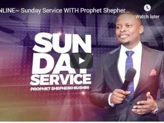 Prophet Shepherd Bushiri Sunday Live Service July 19 2020