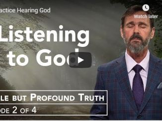 Rabbi Schneider Sermon - Practice Hearing God - July 2020