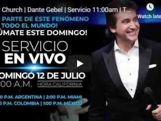 River Church Sunday Service July 12 2020 With Dante Gebel