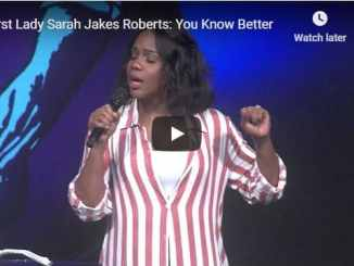 Sarah Jakes Roberts Sermon - You Know Better - July 2020