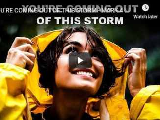 Sean Pinder - You're Coming Out Of This Storm - Morning Prayer