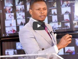 Shepherd Bushiri Sunday Live Service July 26 2020 In ECG