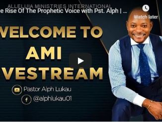 The Rise Of The Prophetic Voice With Pastor Alph Lukau July 6 2020
