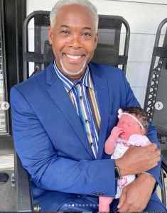 Bishop Dale Bronner Pictured With His 8th Grandchild
