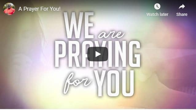 Bishop TD Jakes - A Prayer For You - August 2020