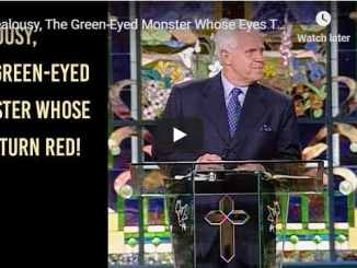 Jesse Duplantis - Jealousy, The Green-Eyed monster whose eyes turn Red - August 2020