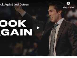 Joel Osteen Sermon - Look Again - August 12 2020