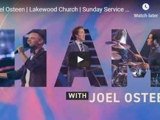 Joel Osteen Sunday Live Service August 30 2020