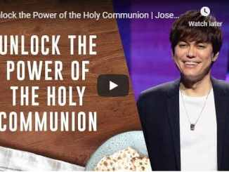 Joseph & Wendy Prince - Unlock the Power of the Holy Communion