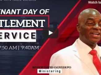 Living Faith Church Sunday Live Service August 23 2020