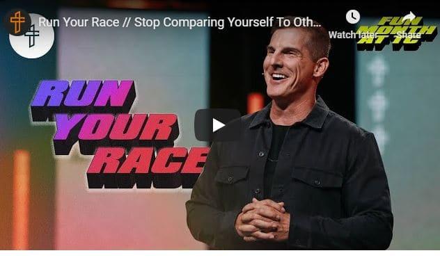 Pastor Craig Groeschel Sermon - Run Your Race - August 16 2020