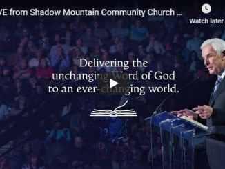 Pastor David Jeremiah Sunday Service Sermon August 23 2020