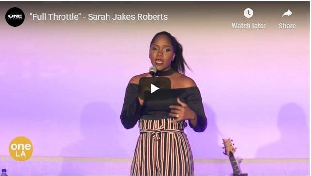 Sarah Jakes Roberts - Full Throttle - August 1 2020