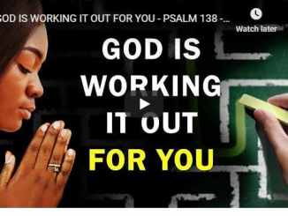 Pastor Sean Pinder Morning Prayer August 13 2020