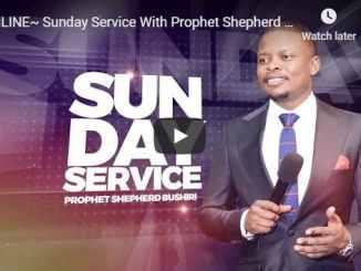 Prophet Shepherd Bushiri Sunday Live Service August 2 2020 In ECG