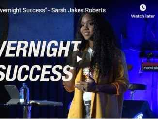 Sarah Jakes Roberts - Overnight Success - August 13 2020