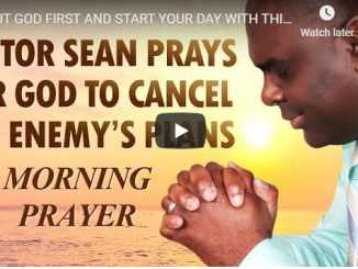 Sean Pinder - Early Morning Prayer To Stop Satan's Plans