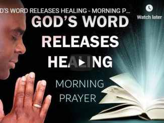 Sean Pinder Morning Prayer August 17