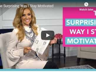 Terri Savelle Foy Sermon - The Surprising Way I Stay Motivated